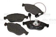 disc pads rear alfa 2.04